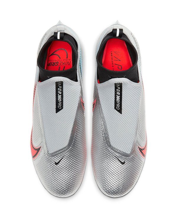 Vapor Edge Pro 360 Premium Zapatos de Fútbol Americano para Hombre Platinum