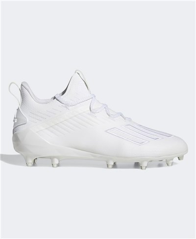 Men's Adizero x Anniversary American Football Cleats Cloud White