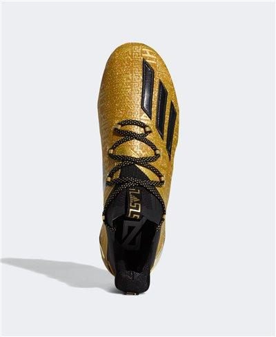 Adizero New Reign Scarpe da Football Americano Uomo Gold Metallic