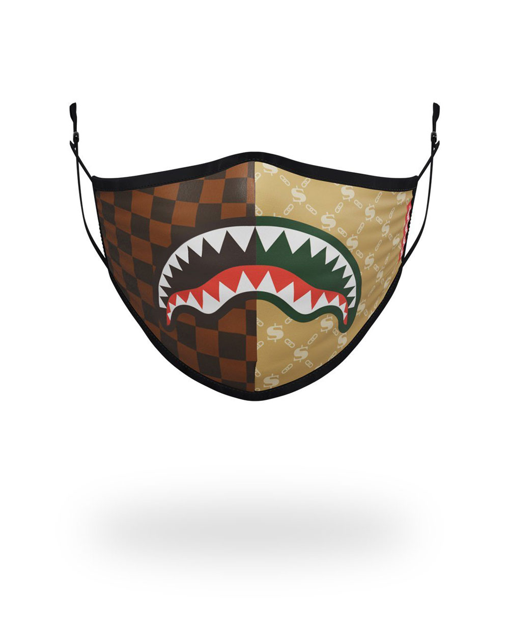 Washable Fabric Face Mask Paris Vs Milan