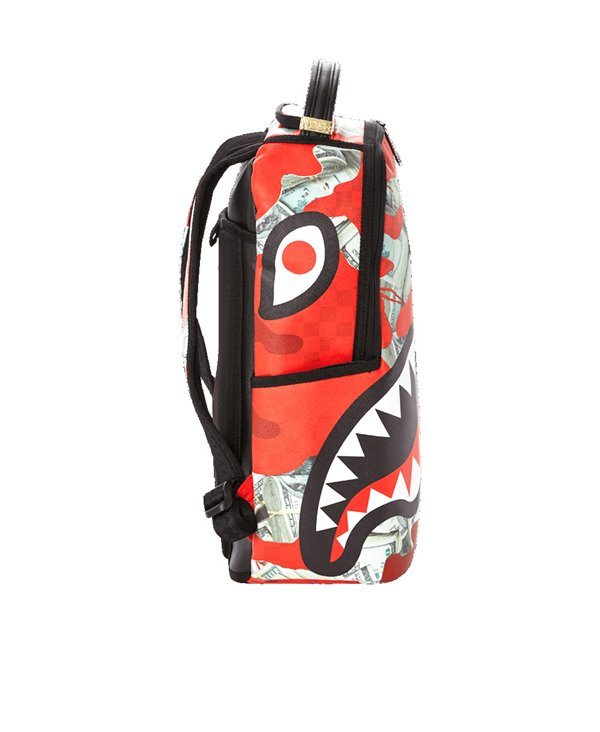 Zaino Money Camo Red