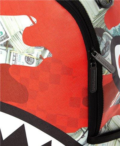 Money Camo Rucksack Red