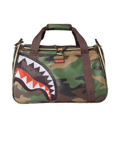 Camo Shark Pet Carrier