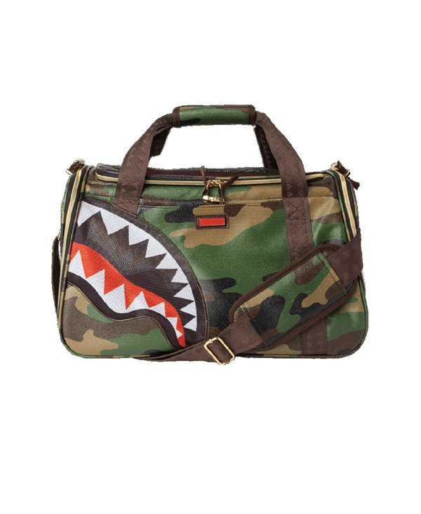 Sac de Transport Chat ou Chien Camo Shark
