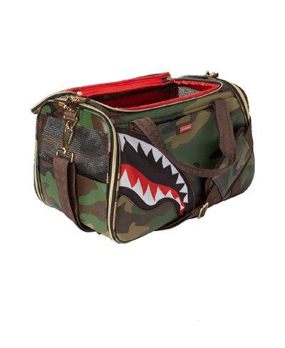Trasportino Cane o Gatto Camo Shark