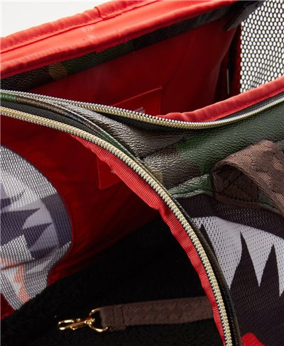 Camo Shark Pet Carrier