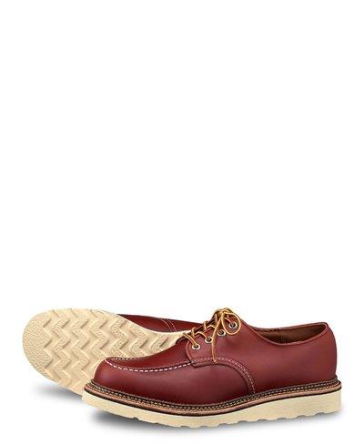 Herren Leather- Classic Oxford Schnürhalbschuhe Oro Russett