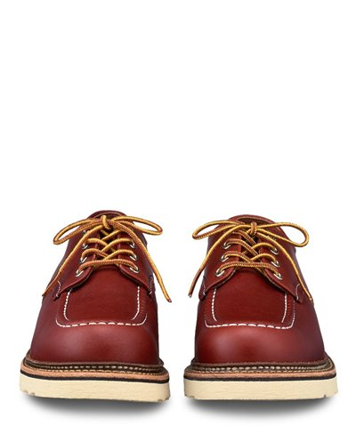 Men's Classic Oxford Leather Lace-ups Oro Russett