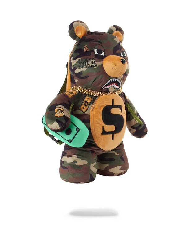 Sac à Dos Money Bear Teddy Bear