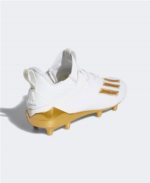 Adizero Scarpe da Football Americano Uomo Cloud White