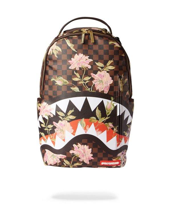 Shark Flower Backpack