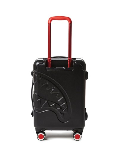 Sharkitecture Carry-On Reisekoffer 4 Räder Black TSA Schloss