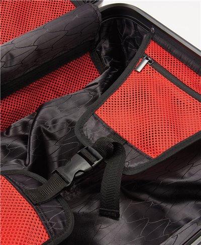 Sharkitecture Carry-On Reisekoffer 4 Räder Black TSA Schloss
