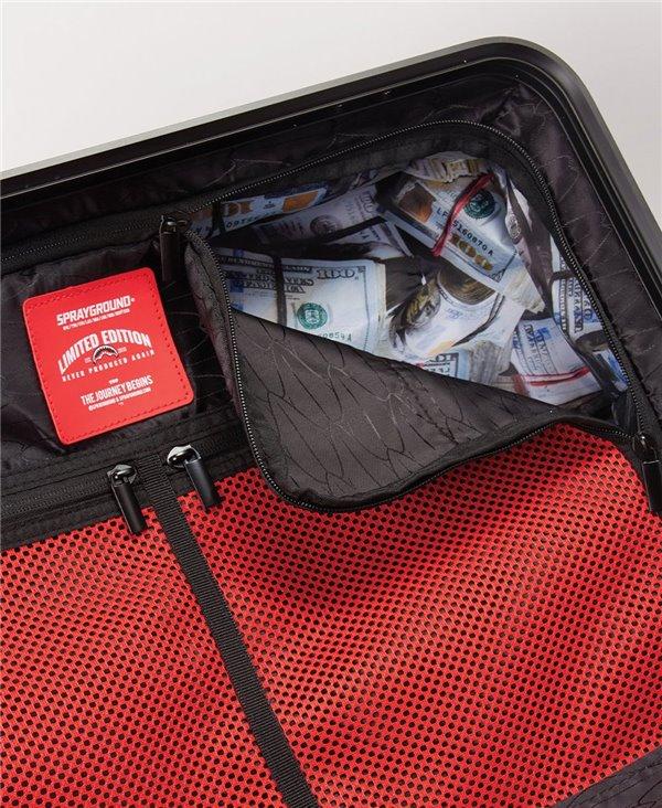 Valigia Sharkitecture Full-Size 4 Ruote Black con Lucchetto TSA