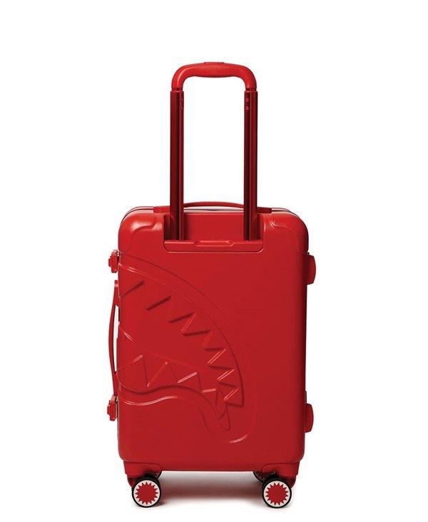 Valise Sharkitecture Carry-On avec 4 Roues Red Serrure TSA