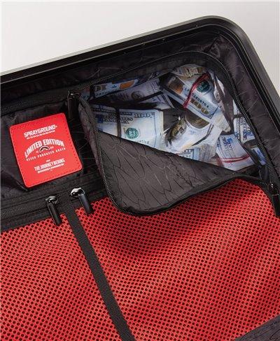 Valigia Sharkitecture Carry-On 4 Ruote Red con Lucchetto TSA