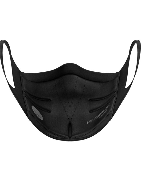 UA Sportsmask Mascherina in Tessuto Lavabile Black