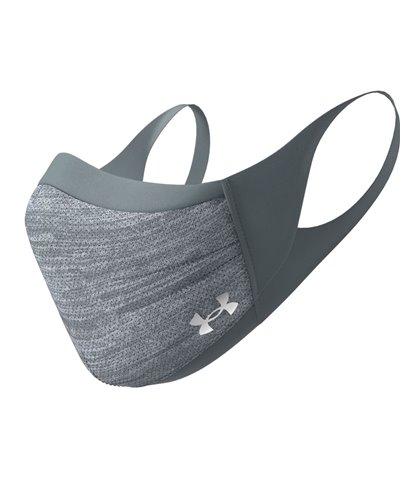 UA Sportsmask Masque en Tissu lavable Pitch Gray/Mod Gray