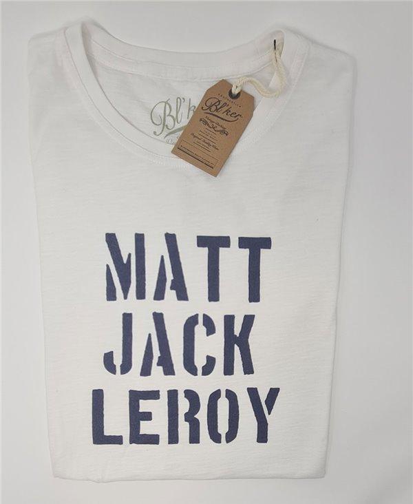 Big Wednesday T-Shirt Manica Corta Uomo White