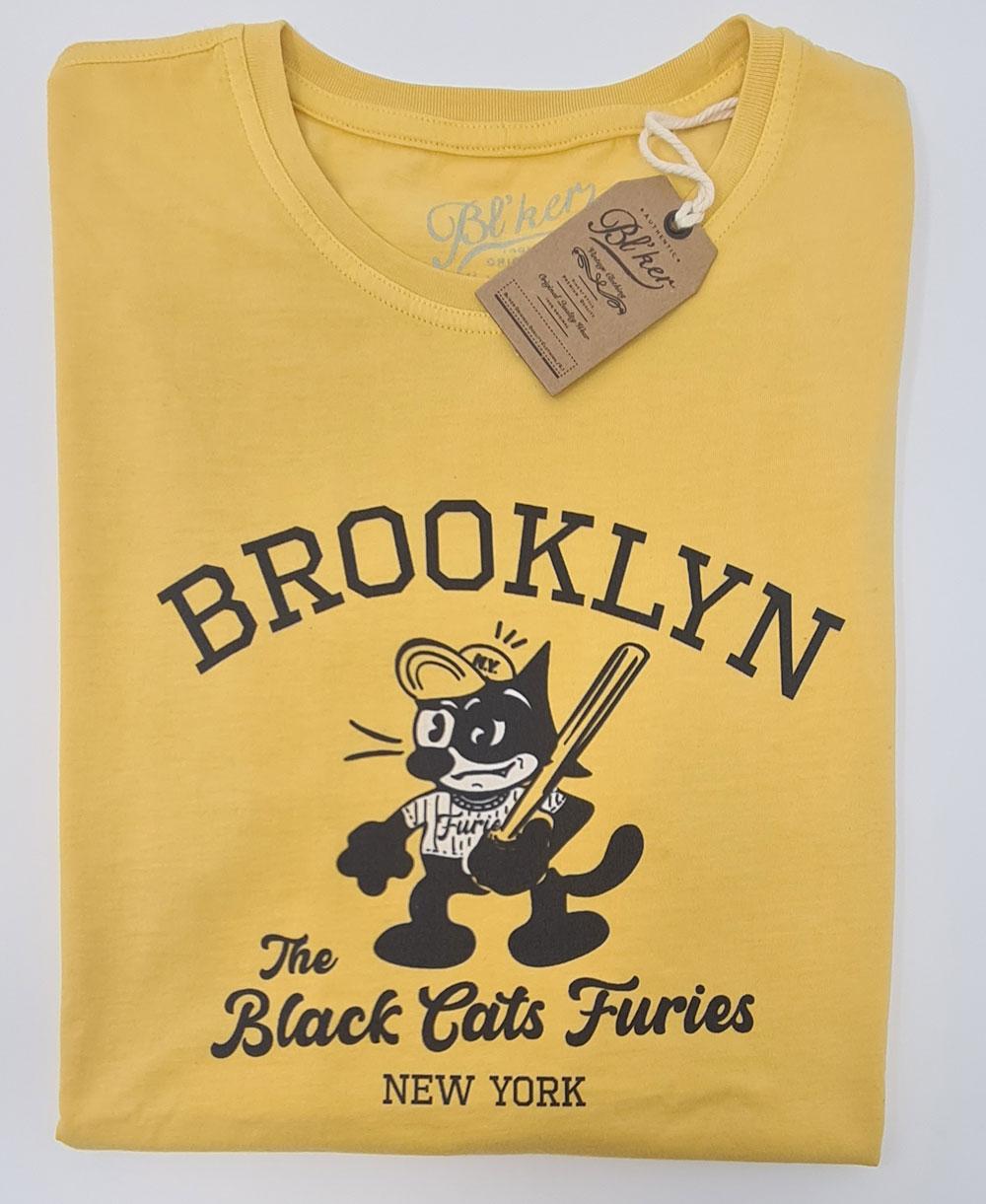 Men's Short Sleeve T-Shirt Felix Furies Yellow