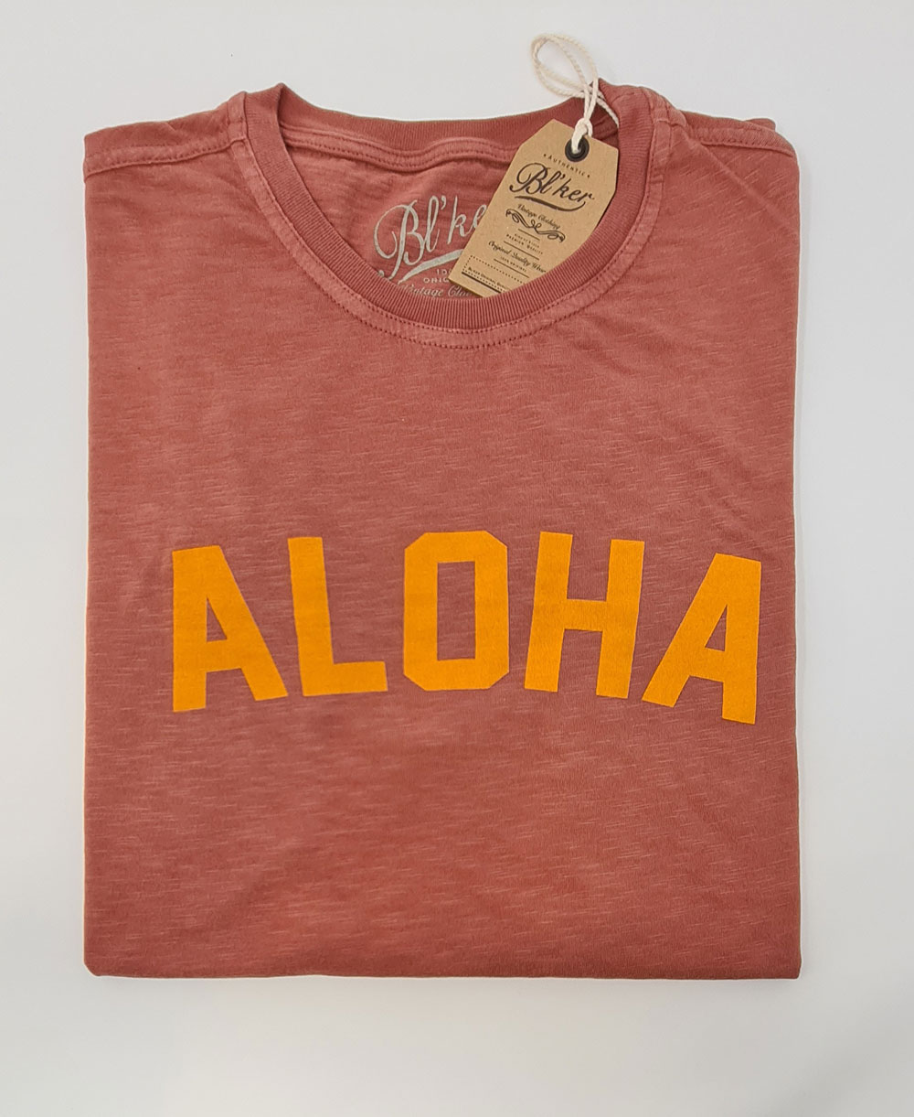 Men's Short Sleeve T-Shirt Aloha Red
