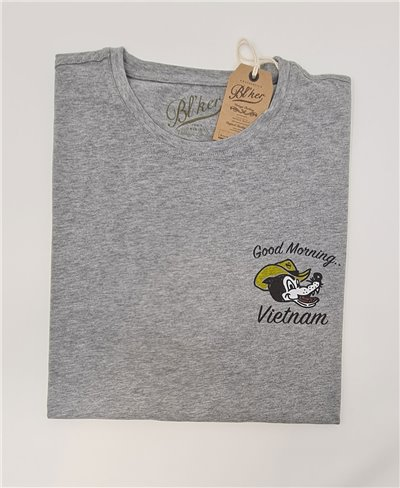Good Morning Vietnam Camiseta Manga Corta para Hombre Heather Grey