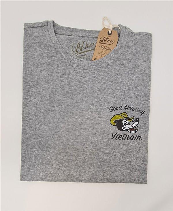 Good Morning Vietnam T-Shirt Manica Corta Uomo Heather Grey