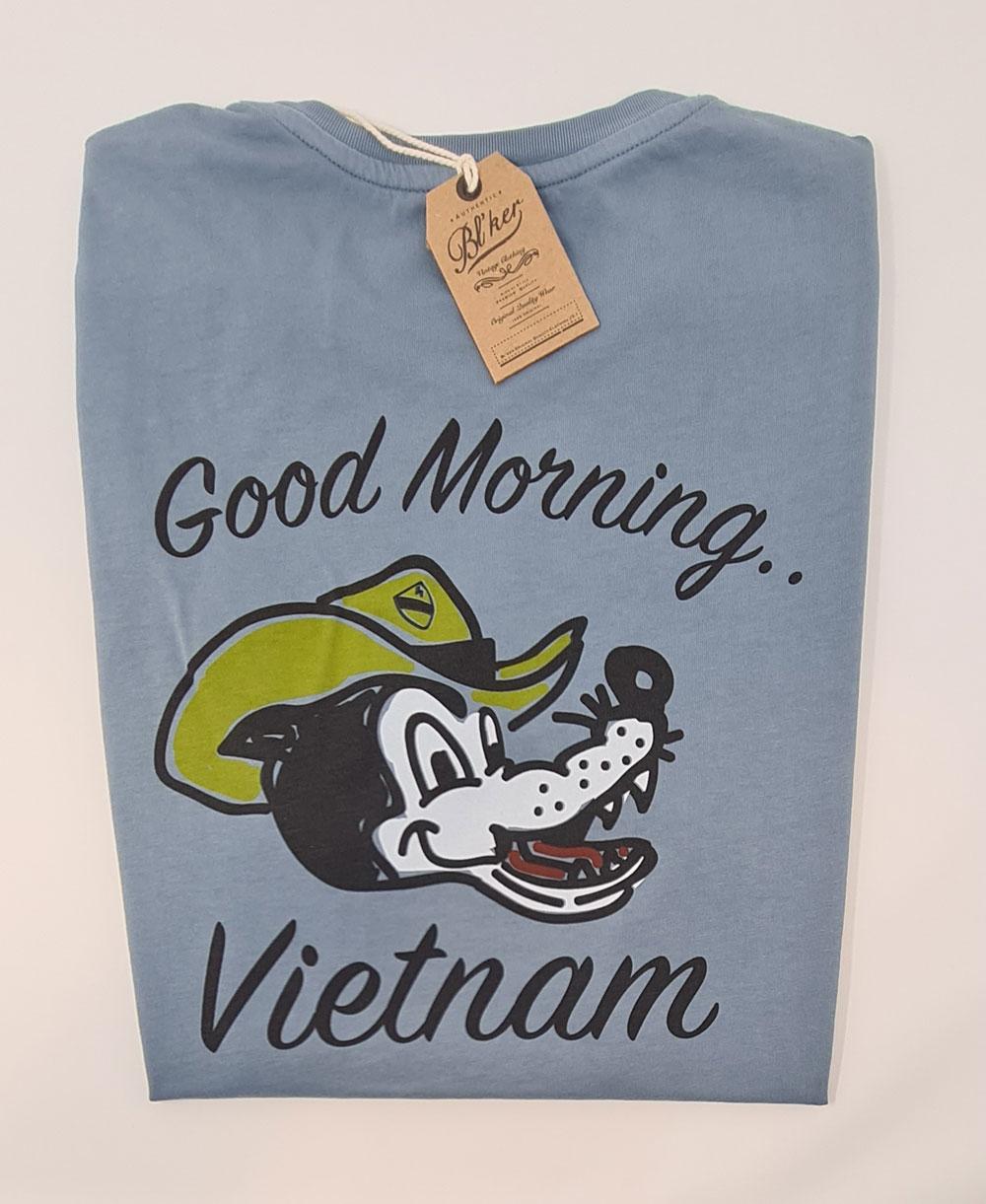 Good Morning Vietnam T-Shirt Manica Corta Uomo Petroleum