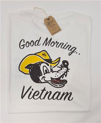 Good Morning Vietnam T-Shirt Manica Corta Uomo White