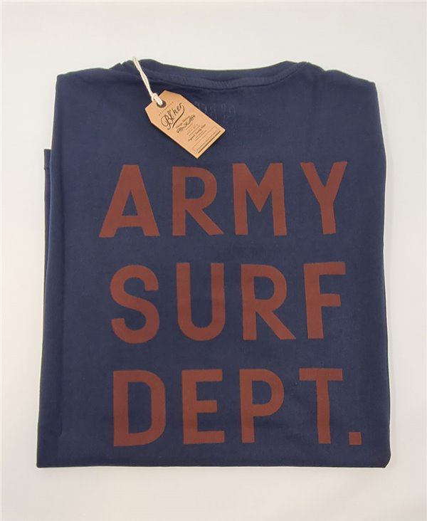 Men's Short Sleeve T-Shirt Army Surf Dept Navy