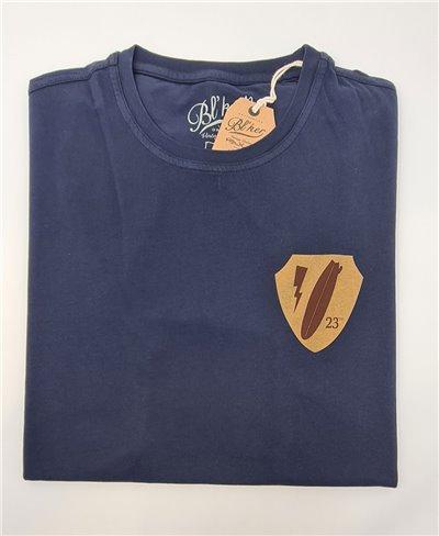 Army Surf Dept T-Shirt Manica Corta Uomo Navy