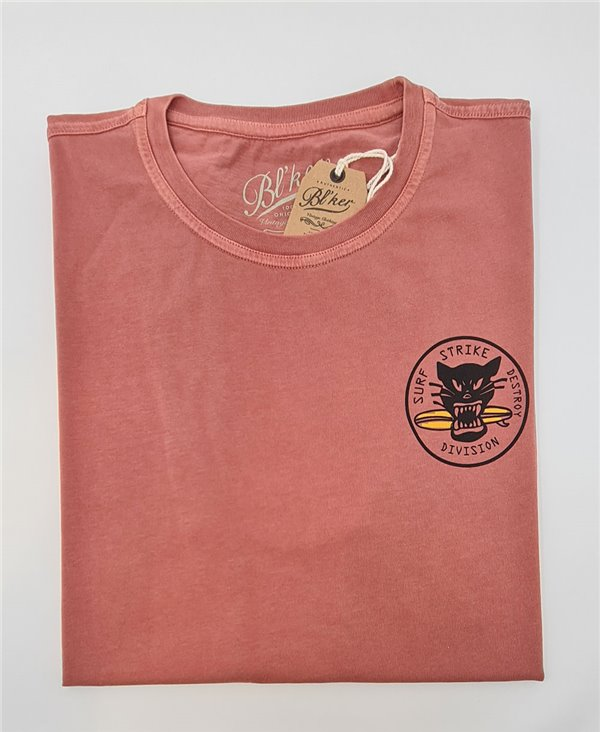 Surf on Wheel T-Shirt à Manches Courtes Homme Red