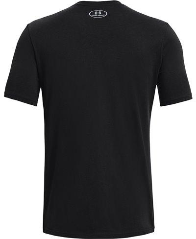 UA TB12 7 Rings Camiseta Manga Corta para Hombre Black
