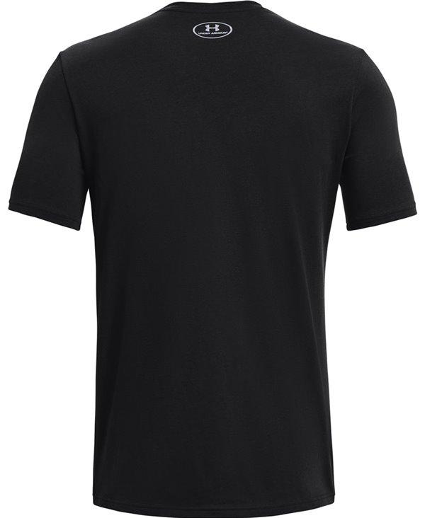 UA TB12 7 Rings T-Shirt à Manches Courtes Homme Black