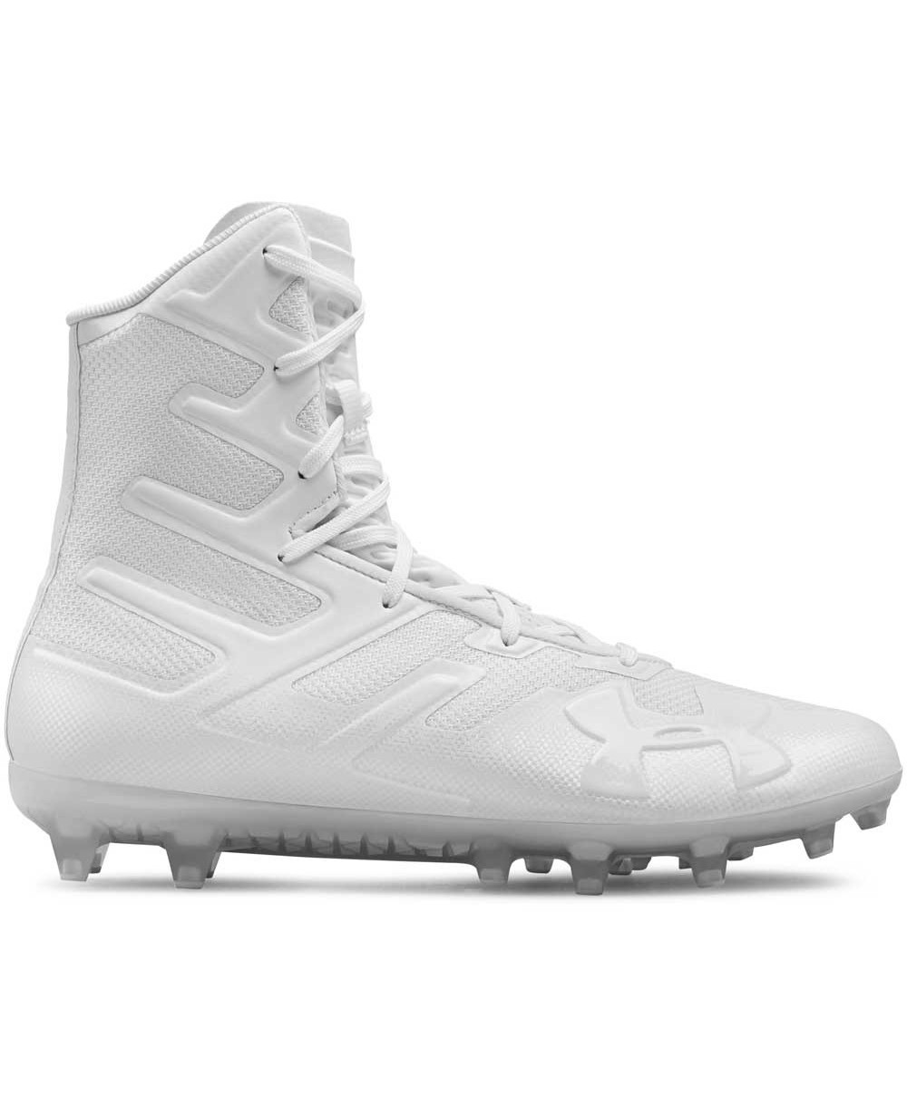 84ba07af8 Under Armour Men s Highlight MC American Football Cleats White
