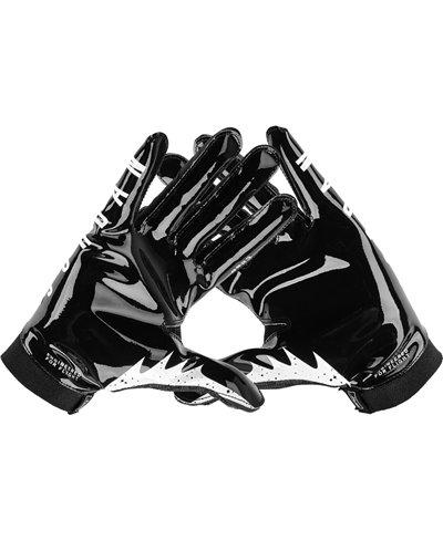 Jordan Knit Guantes Fútbol Americano para Hombre Black