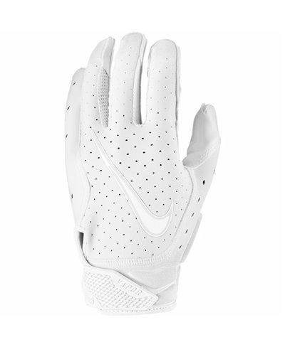 Vapor Jet 6 Herren American Football Handschuhe White/Platinum Tint