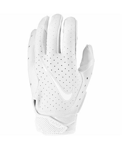 Vapor Jet 6 Men's Football Gloves White/Platinum Tint