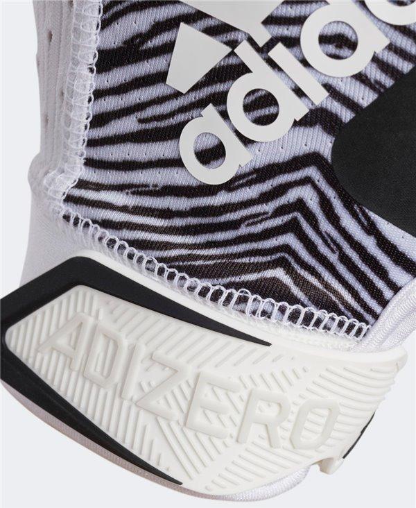 Adizero 9.0 Zubaz Men's Football Gloves White/Black