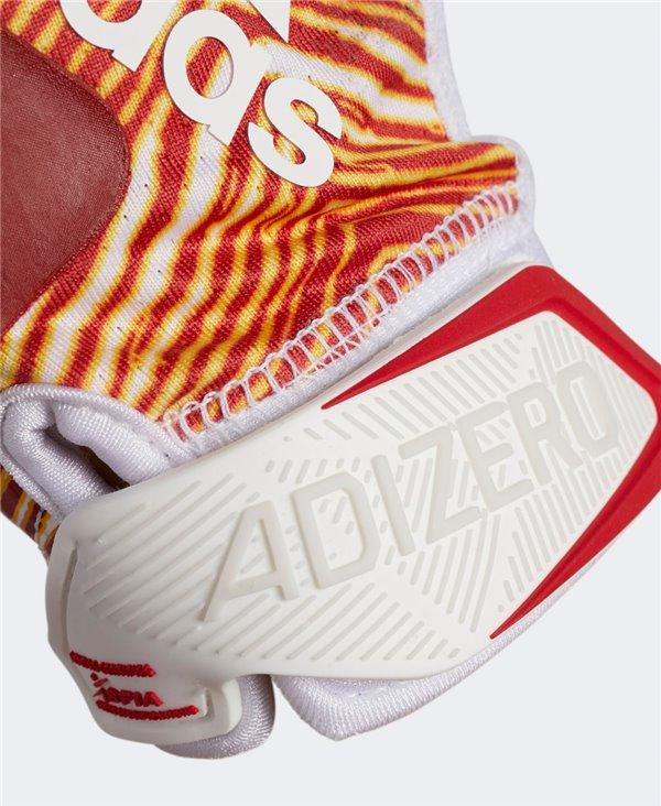 Adizero 9.0 Zubaz Herren American Football Handschuhe White/Melange