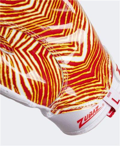 Adizero 9.0 Zubaz Men's Football Gloves White/Melange