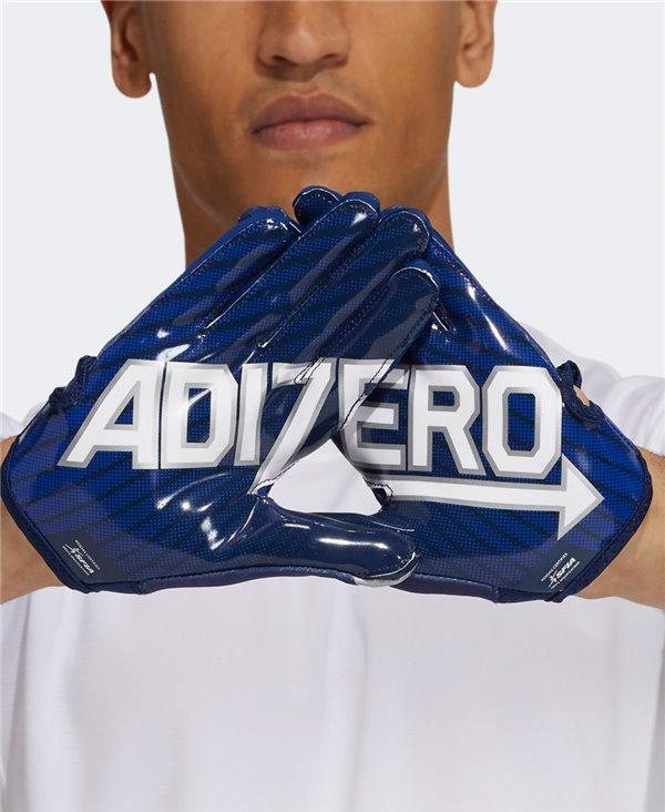 Adizero 11 Turbo Guantes Fútbol Americano para Hombre Navy