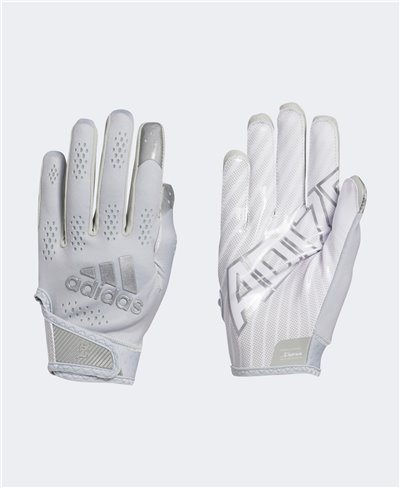 Adizero 11 Turbo Men's Football Gloves Grey