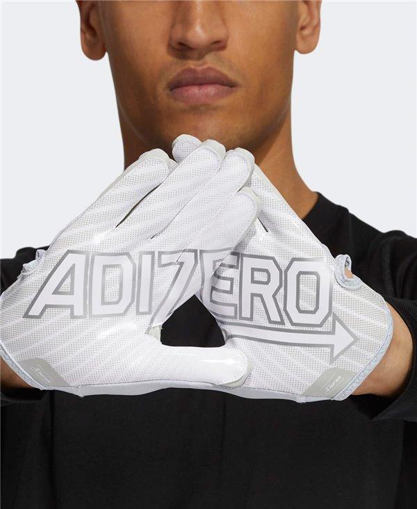 Adizero 11 Turbo Guantes Fútbol Americano para Hombre Grey