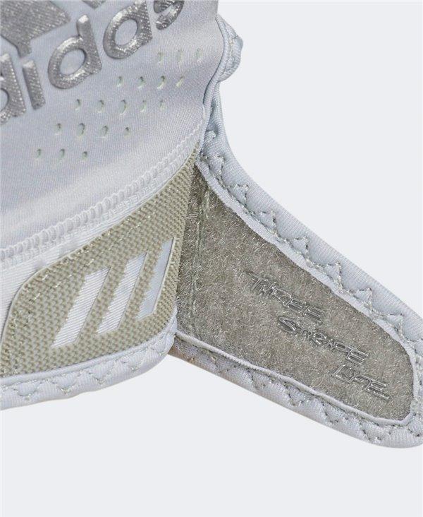 Adizero 11 Turbo Herren American Football Handschuhe Grey