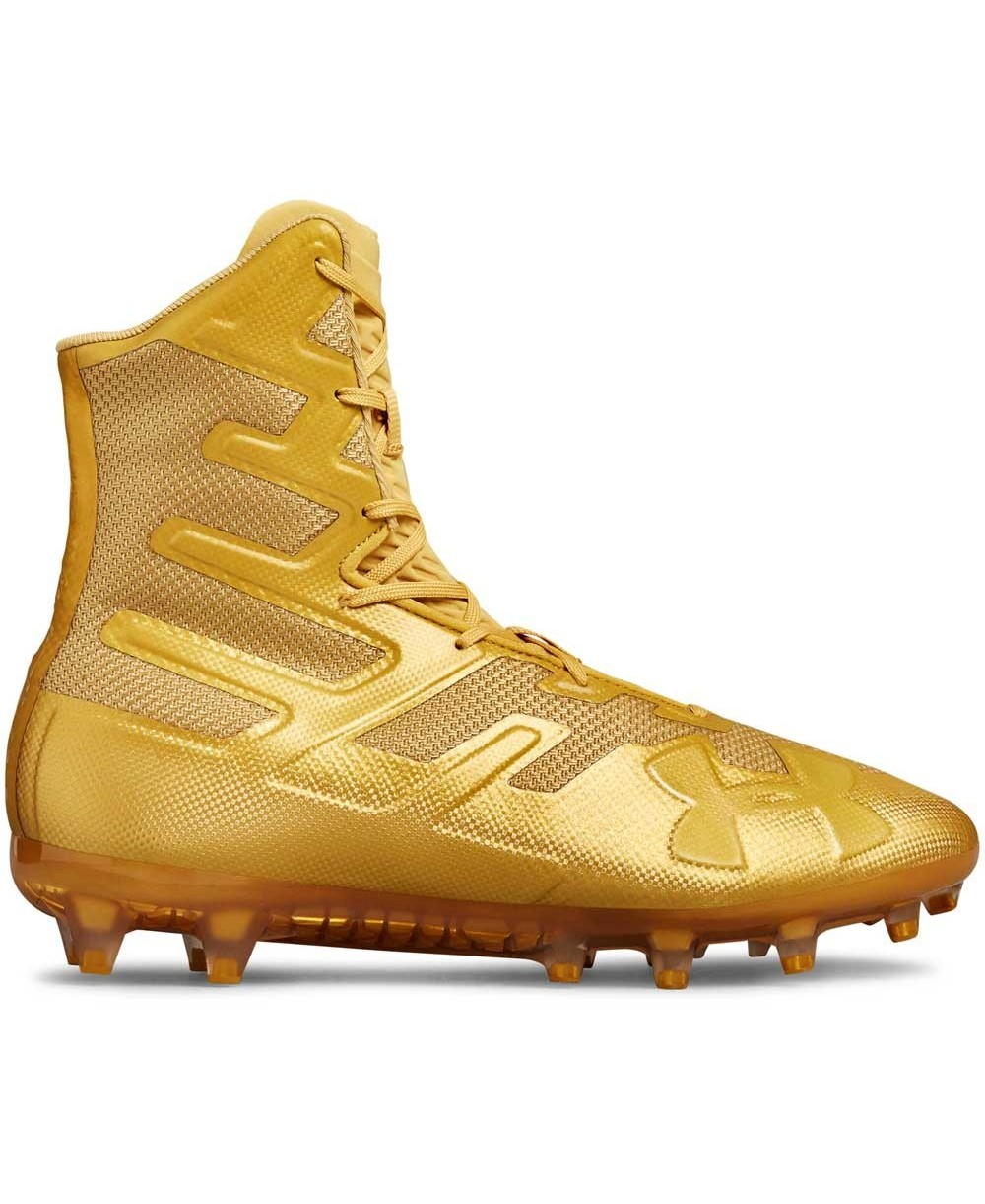 73c00dc2b8f Under Armour Men's Highlight MC American Football Cleats Metallic Gold