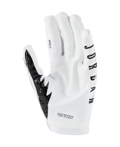 Jordan Knit Men's Football Gloves White