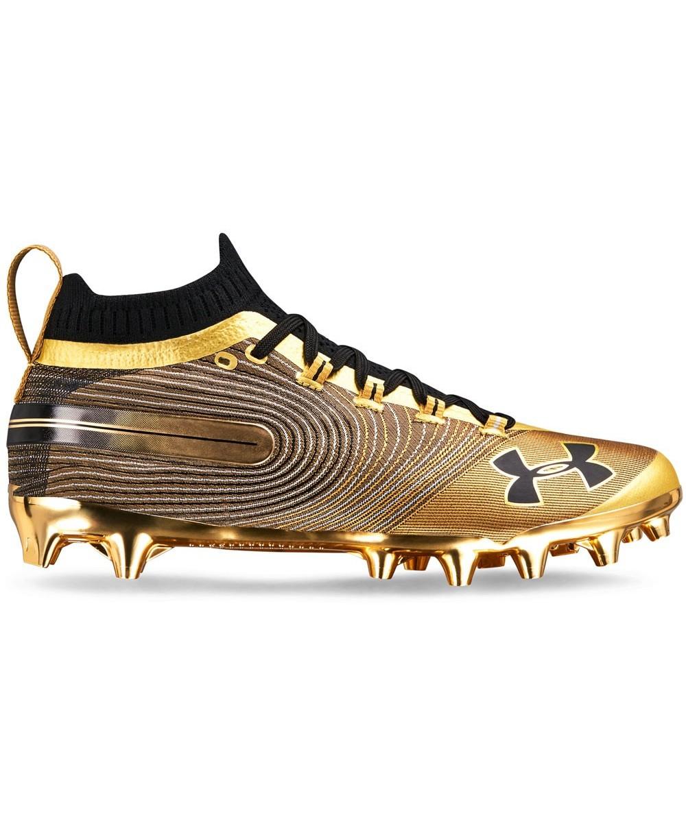 Mc Para Gold Metallic Spotlight De Fútbol Hombre Americano Zapatos D2beW9IEHY