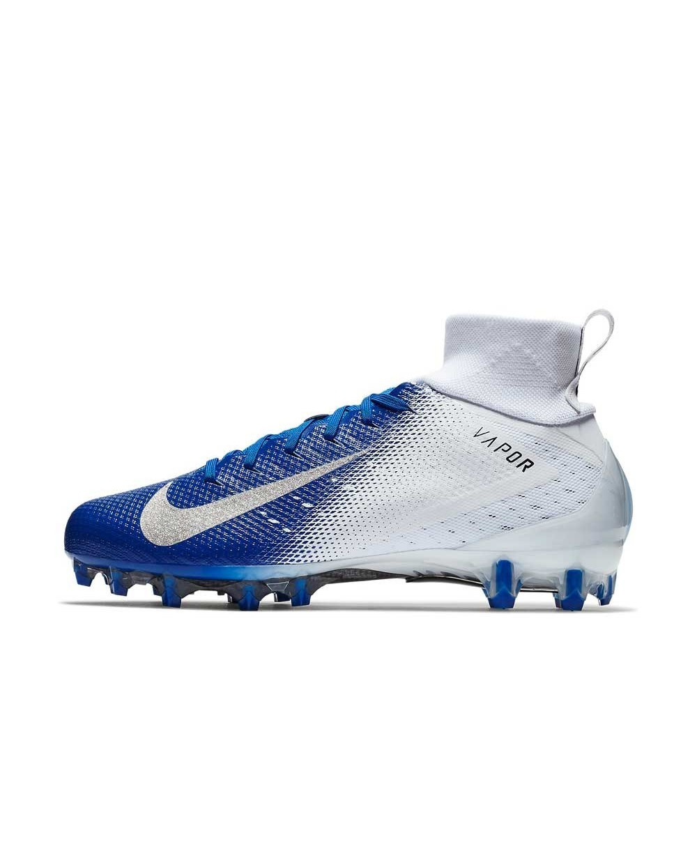 f5a5e1ea7c3a Nike - American Football Cleats for men, model Vapor Untouchable 3 Pro,  colour White/Game Royal/Photo Blue/Metallic Silver