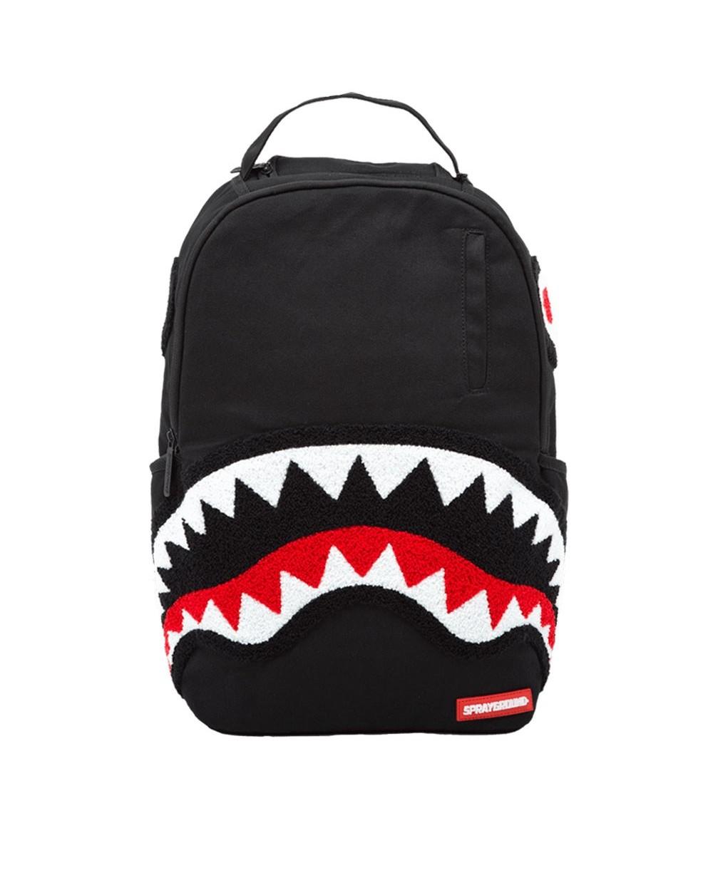 92d5e5263893 Sprayground Ghost Chenille Shark Backpack